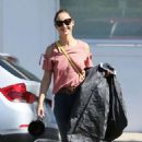Cara Santana in Jeans out in Los Angeles - 454 x 681