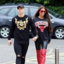 Katie Price and Kris Boyson out in London - 454 x 593