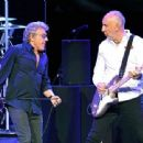 Roger Daltrey & Pete Townshend perform  on the first night of the band's residency at The Colosseum at Caesars Palace on July 29, 2017 in Las Vegas, Nevada