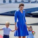 Prince Windsor and Kate Middleton  arrived at Berlin Tegel Airport - 400 x 600