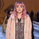 Maisie Williams attends Coach 1941 fashion show at the NYSE on February 2019 during New York Fashion Week on February 12, 2019 in New York City