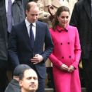 Prince William Windsor and Kate Middleton visit to The Door (December 9, 2014)