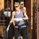 Erin Andrews - Leaves The Dancing With The Stars Studio In Hollywood - March 17, 2010