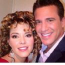 Alicia Machado and Jorge Aravena