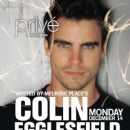Colin Egglesfield - Privé Magazine Cover [United States] (April 2011)
