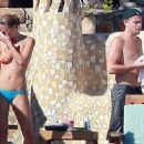 Leonardo Dicaprio and Bar Refaeli