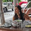Nina Dobrev Goes Shopping And Gets Some Lunch In West Hollywood - 400 x 304