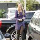 Molly Sims Arriving For An Event At The Lumber Yard Mall In Malibu - April 15, 2010