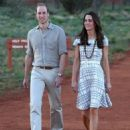 Duke and Duchess of Cambridge's visit to Ayers Rock  (April 22, 2014)