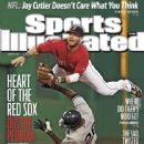 Dustin Pedroia - Sports Illustrated Magazine Cover [United States] (15 August 2011)