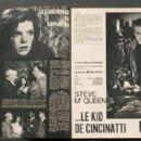 Steve McQueen - Cinemonde Magazine Pictorial [France] (21 September 1965)