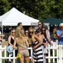 Sarah Harding: at Pupaid 2012 held in Primrose Park