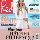 Elle Macpherson - Red Magazine Cover [United Kingdom] (February 2016)