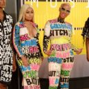 Blac Chyna and Amber Rose Attend the 2015 VMA Awards at the Microsoft Theater in Los Angeles, California - August 30, 2015 - 399 x 600