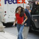 Victoria Beckham - Shopping For Jewelry At Barney's In NY, 2003-07-29