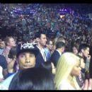 Blac Chyna, Tyga, Kourtney Kardashian, and Scott Disick at The IHeartRadio Music Festival in Las Vegas - September 21, 2013