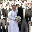 Ellie Goulding at her wedding to to Caspar Jopling in York - 454 x 681