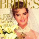 Brooke Shields - Brides Magazine Cover [United States] (September 1984)