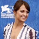 Actress Alicia Vikander attends a photocall for 'The Light Between Oceans' during the 73rd Venice Film Festival at on September 1, 2016 in Venice, Italy