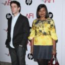 B.J. Novak and Mindy Kaling