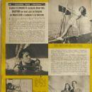 Sophie Desmarais - L'Ecran Francais Magazine Pictorial [France] (4 November 1947) - 454 x 615