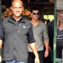 Taylor Lautner Out For Lunch In Berlin