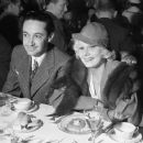 with her boss irving thalberg 1933