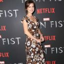 Jessica Stroup – 'Iron Fist' TV Series Premiere in New York - 454 x 666
