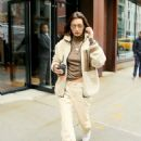 Bella Hadid – Exiting her apartment in New York City