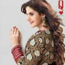Zarine Khan In Anarkali New Photo Shoot For A New Collection Of 2013 - 317 x 452
