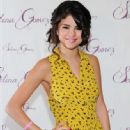 Selena Gomez promoted her new fragrance while in New York City. The singer is hard at work on her first scent
