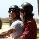 Anthony Kiedis and Laura Freedman