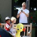Eric Dane and Family Out and About