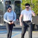 Chloe Moretz and Brooklyn Beckham – Leaving XIV Karot Jewelry store in Beverly Hills