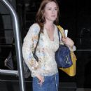 Danneel Harris Leaves Her Hotel In New York City July 24 2009