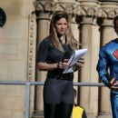Gemma Atkinson – Key 103 Radio station Cash For Kids Super Hero Day in Manchester - 454 x 730