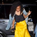 Kelly Rowland – Arriving at Stevie Wonder's birthday party in West Hollywood - 454 x 684