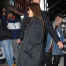 Salma Hayek – Arrives at Watch What Happens Live in NYC