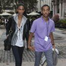 Chanel Iman and Chris Smith - 396 x 594