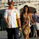 Marion Jollès and Romain Grosjean