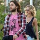 Jared Leto and Lauren Hastings