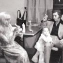 Tammy Wynette, George Jones & Daughter - 454 x 382