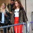 Isla Fisher at BBC Broadcasting House in London - 454 x 711