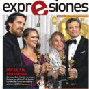 Colin Firth, Melissa Leo, Christian Bale, Natalie Portman - Expresiones Magazine Cover [Ecuador] (1 March 2011)