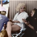 marilyn monroe, colorization...