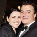 Chris Noth and Julianna Margulies