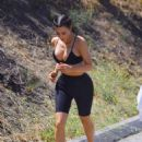 Kim Kardashian – Hiking in The Fryman Canyon