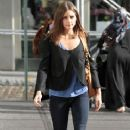 Olivia Palermo: strolling through Brooklyn