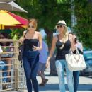Miley Cyrus spent her Mother's Day with her momma, Tish, in Hollywood today, May 13
