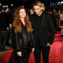 Jamie Bower and Bonnie Wright